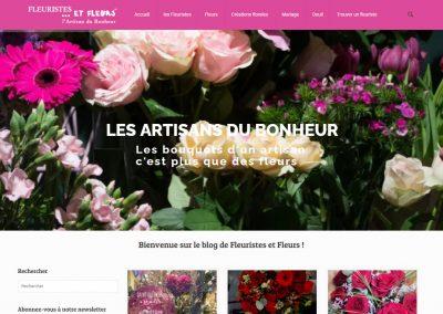 Fleuristes et fleurs Blog