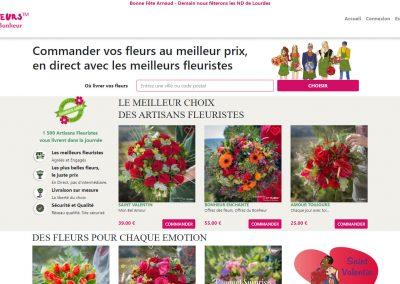 Fleuristes et fleurs